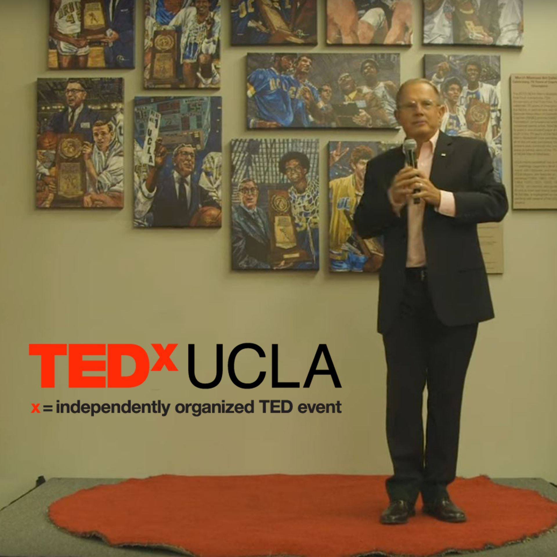 Micheal Eselun at TEDx UCLA - click the photo to view the video